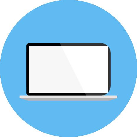 Learnign online laptop